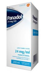 PANADOL 24 mg/ml oraalisusp 200 ml
